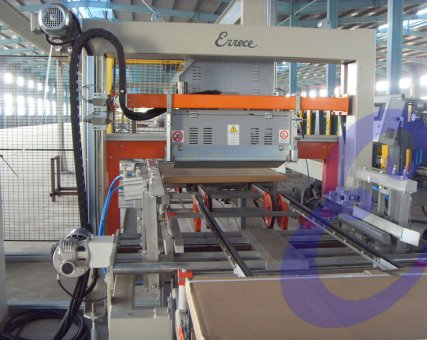 End of the line equipment: Automatic Strapping machine